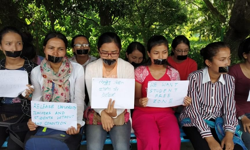 Manipur University: 6 students' bodies decide to call off stir