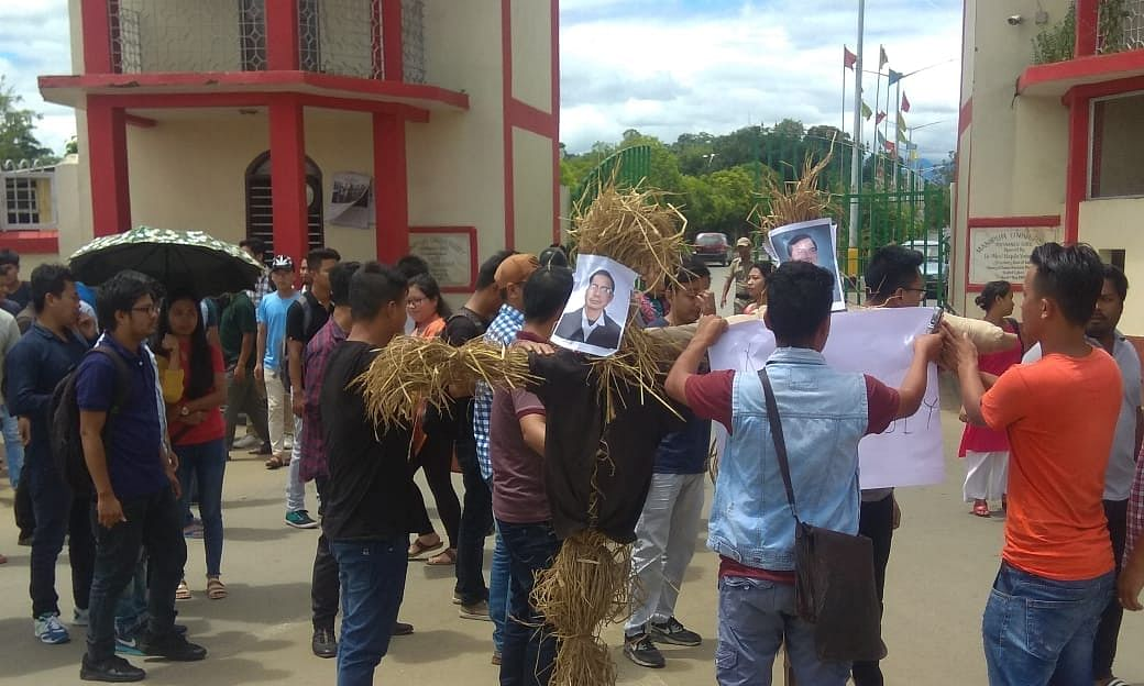 Manipur University: Teachers to go on mass casual leave tomorrow