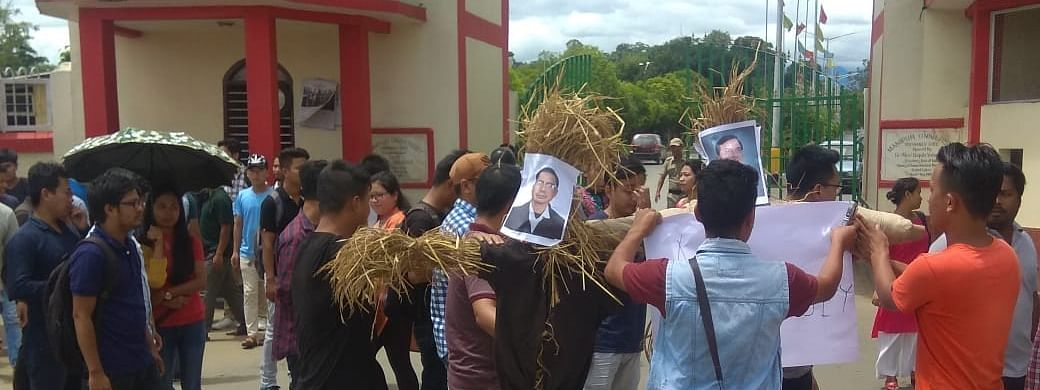The MUTA has demanded the release of students and teachers arrested in connection with the present crisis in Manipur University on or before October 11