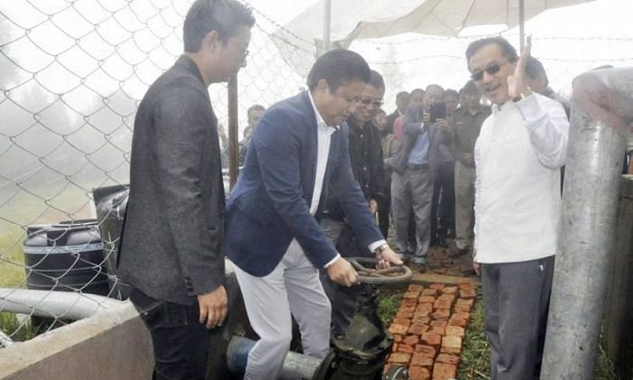 Nagaland: Water supply project to benefit 600 households in Wokha