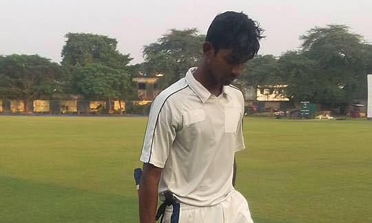 Tripura cricketer makes history by scoring double ton in Ranji