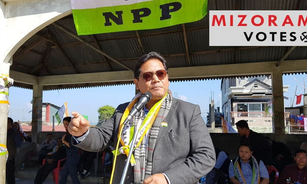Mizoram: 'Congress party's betrayal an opportunity for NPP'