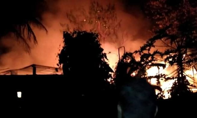 Diwali fire: Several houses, shops gutted in Assam, Nagaland