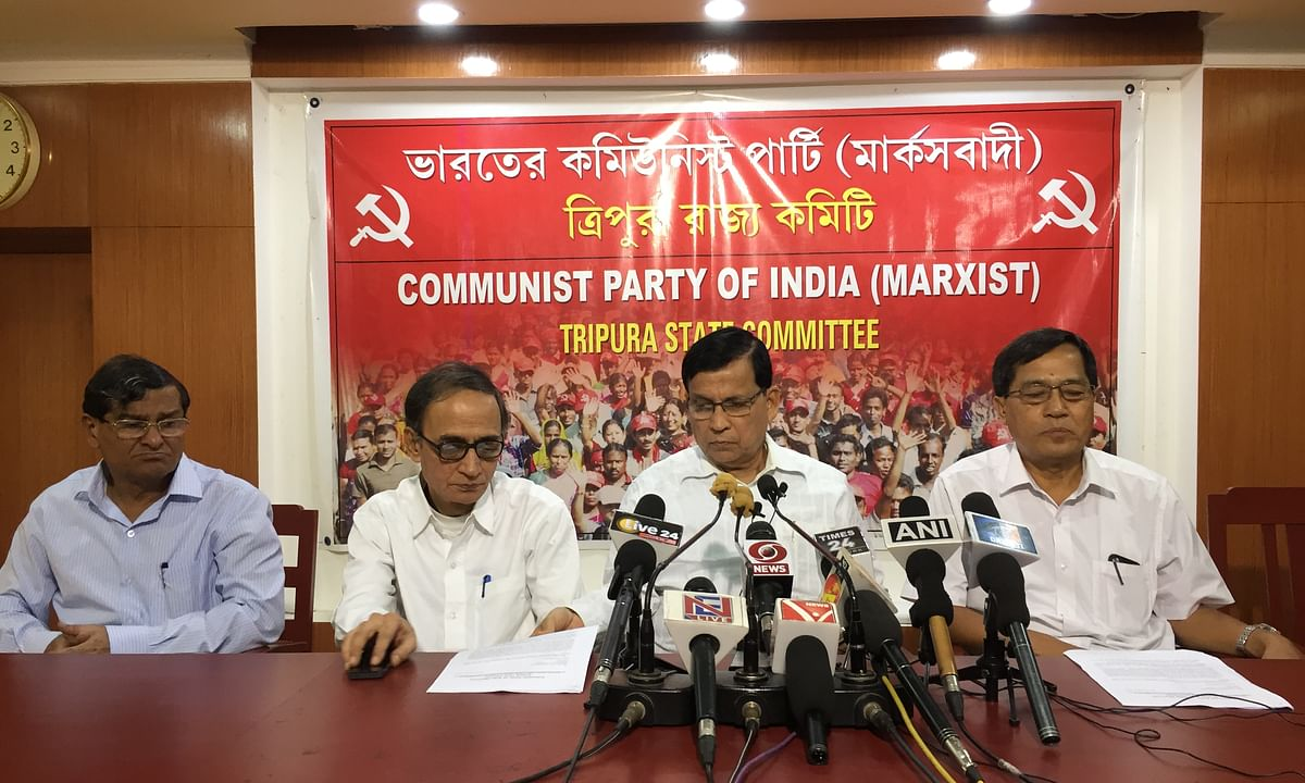 Tripura: CPI-M delegation meets CM demanding security for workers