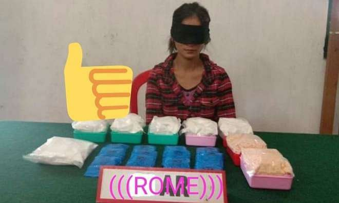 Manipur: Woman held with contraband drugs worth Rs 35 lakh