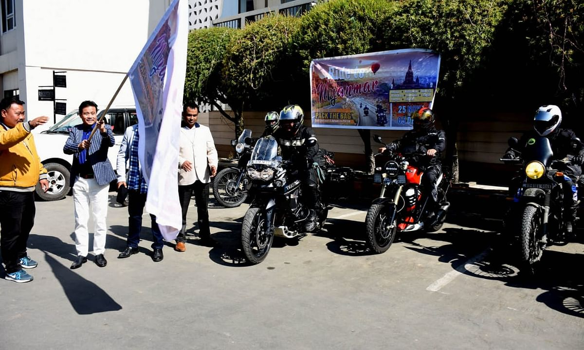 Manipur: How these 8 bikers are promoting cultural integration