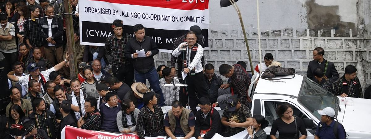 More than 40,000 people had been protesting in Aizawl demanding CEO SB Shashank's removal.