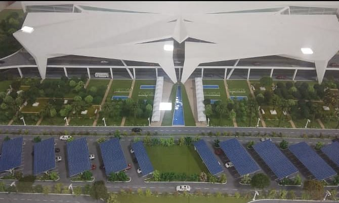 This is how the new terminal at Guwahati airport will look like