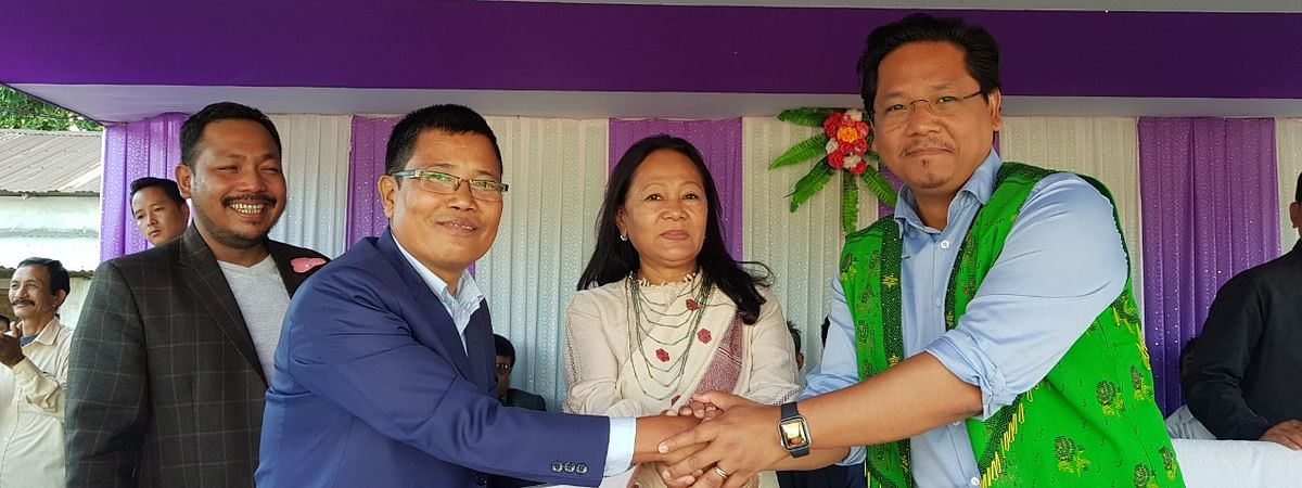 NPP president Conrad Sangma described Dilliram G Marak as a person with genuine interest for the people of the state.