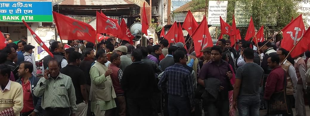Earlier, the CPI-M had withdrawn its candidates from all four seats of Agartala Municipal Corporation to avert further attacks on them