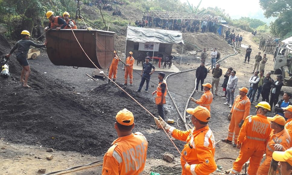 Meghalaya mishap: Second body retrieved from Ksan coal mine