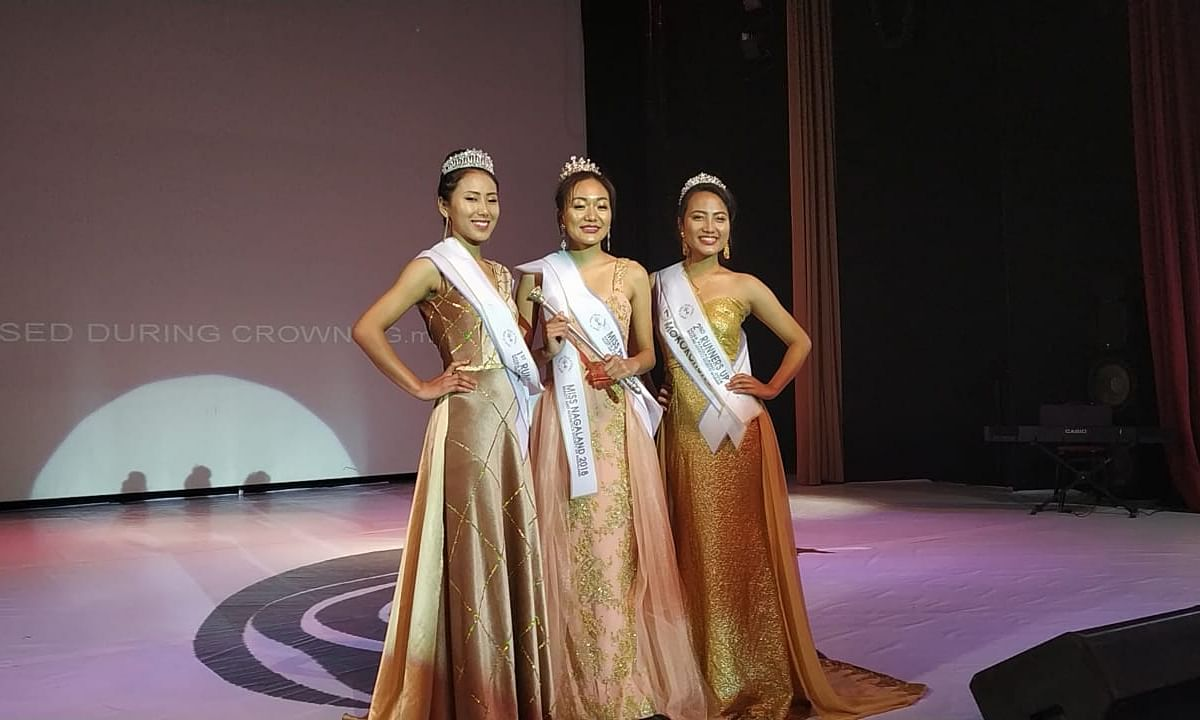 20-yr-old Phek girl Mewetsho-ü Dianu crowned Miss Nagaland 2018