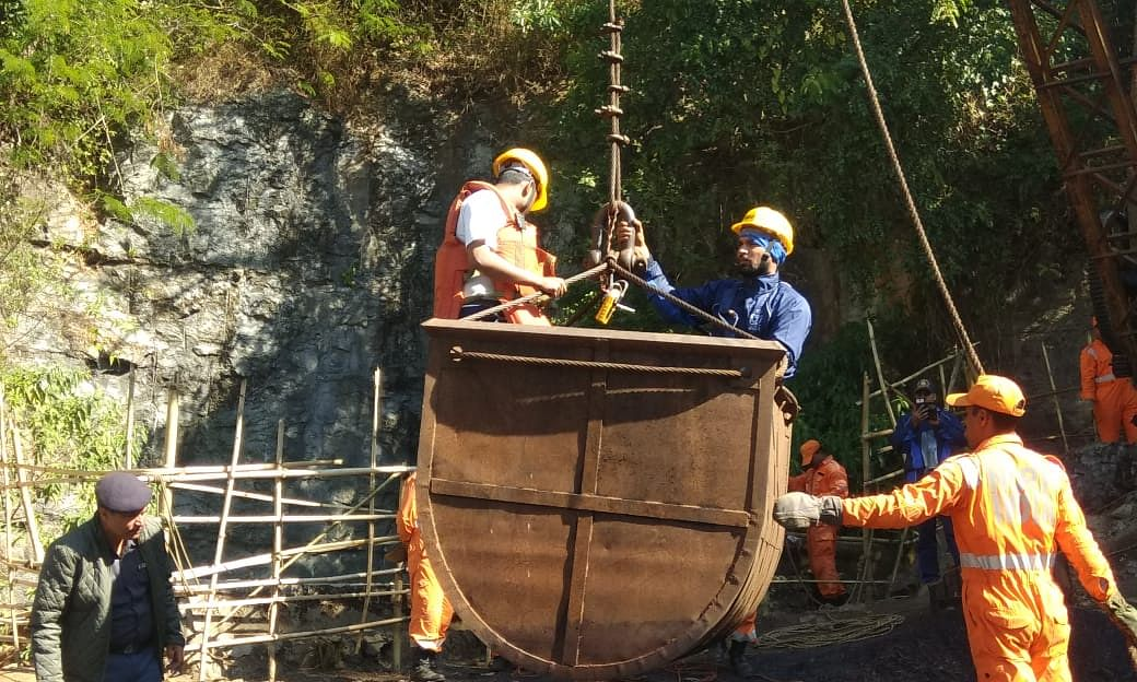 Meghalaya mishap: Navy divers go deeper, enter main shaft of mine