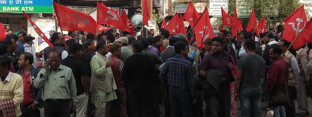 The CPI(M) also demanded re-polling in various polling booths.
