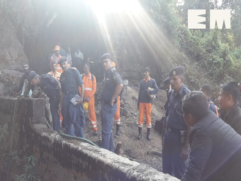 Ops to rescue remaining miners to continue: Meghalaya minister