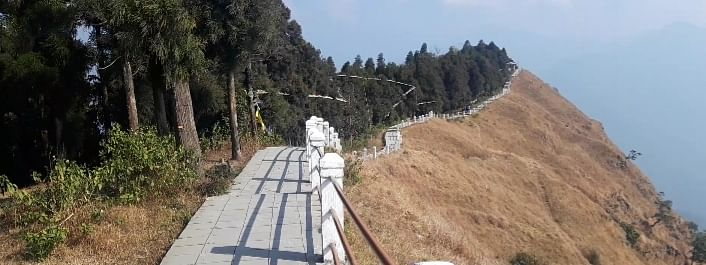Tarey Bhir in south Sikkim