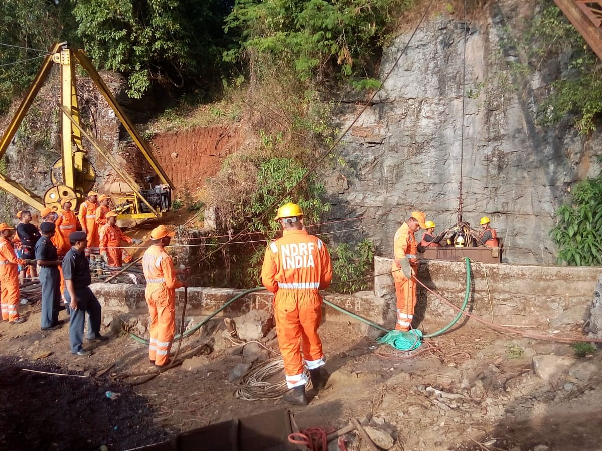 Search and rescue operations were suspended on Monday after the authorities failed to pump out water from the ill-fated mine in Meghalaya's East Jaintia Hills