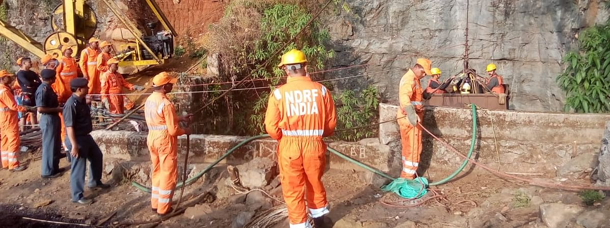 Rescue operations in progress in coal mine in East Jaintia Hills