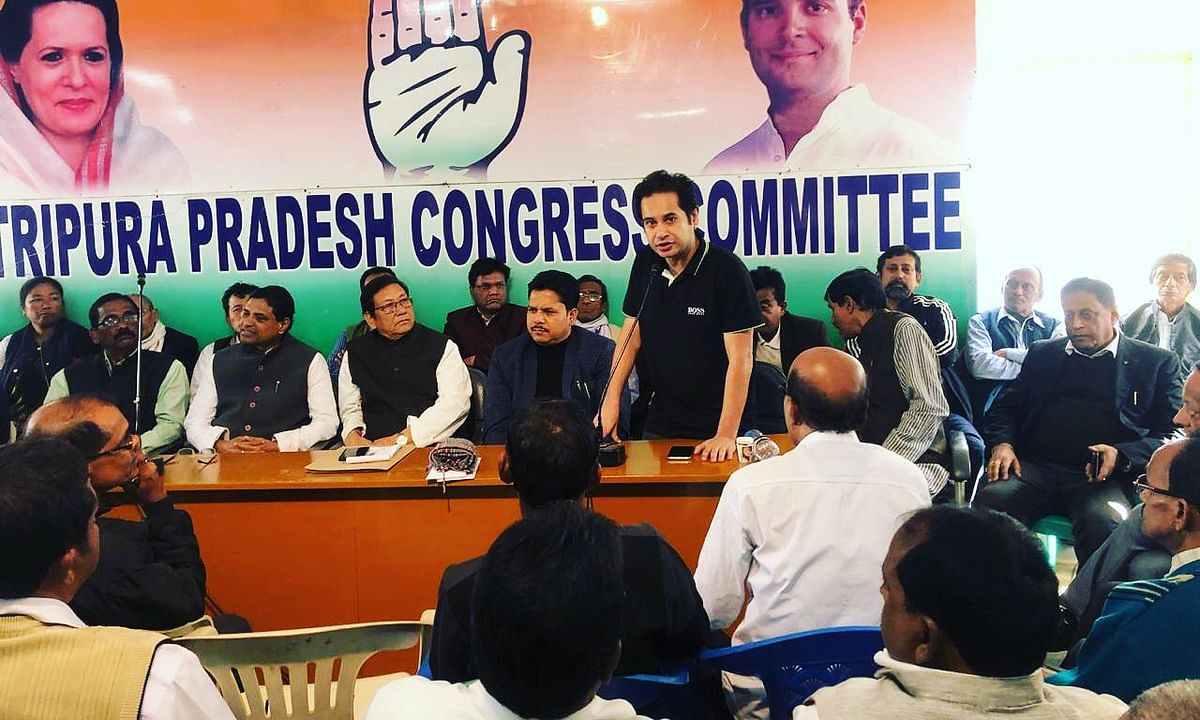 Tripura: Pradyot tenders 'resignation' from Cong over humiliation