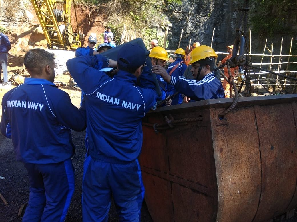 Centre to SC: Facing difficulties in rescuing miners in Meghalaya