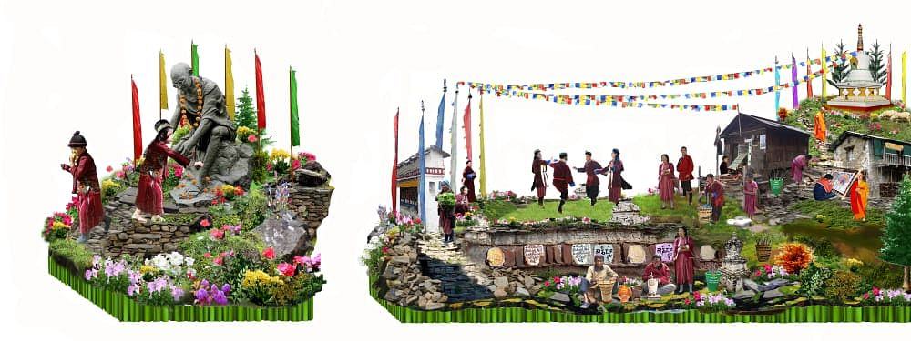 The Arunachal Pradesh tableau has been selected 13 times in the past