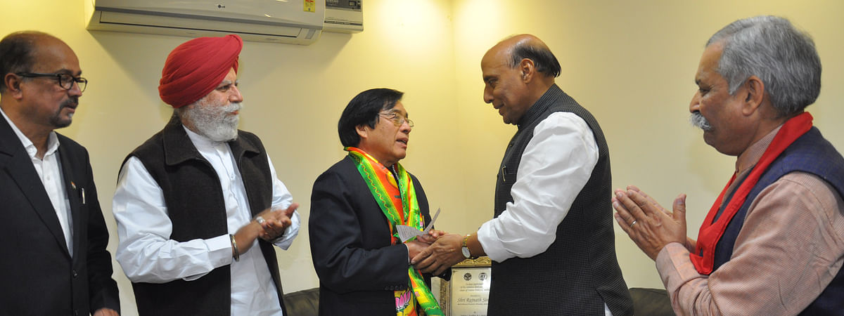 Apang had joined the BJP in 2014 in the run-up to the last assembly polls that year.