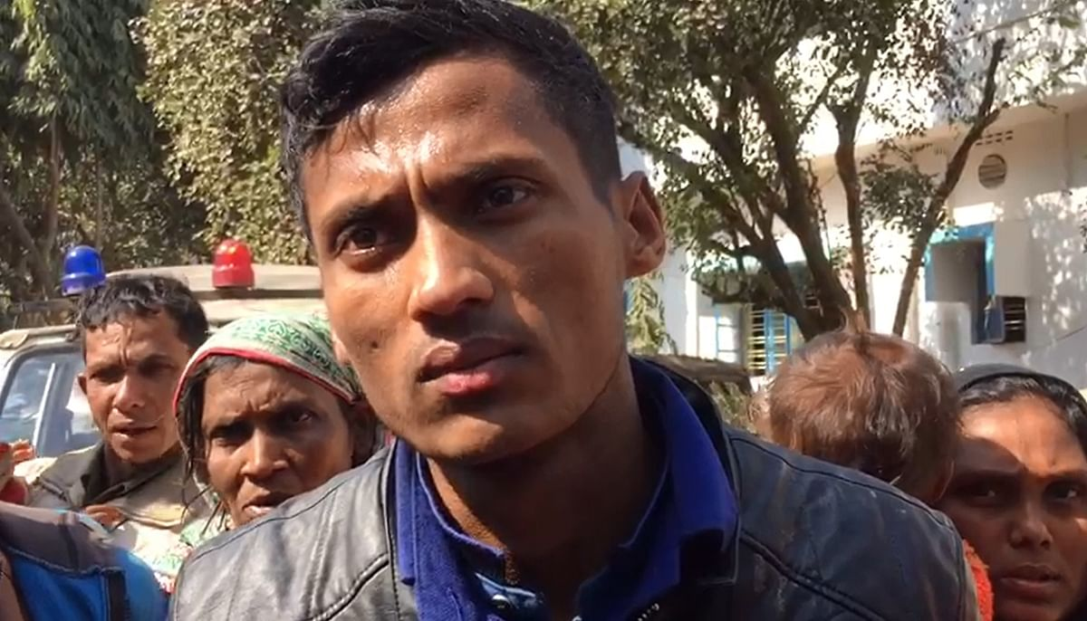 Abdu Shukur, one of the 31 Rohingya Muslims detained by the BSF in Tripura