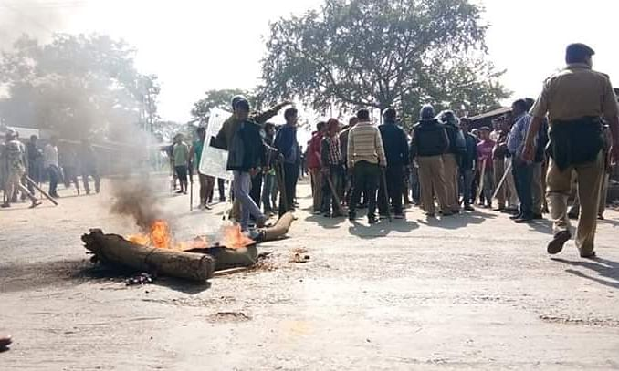 Tripura: Protests turn violent during 11-hour NE bandh, 8 hurt