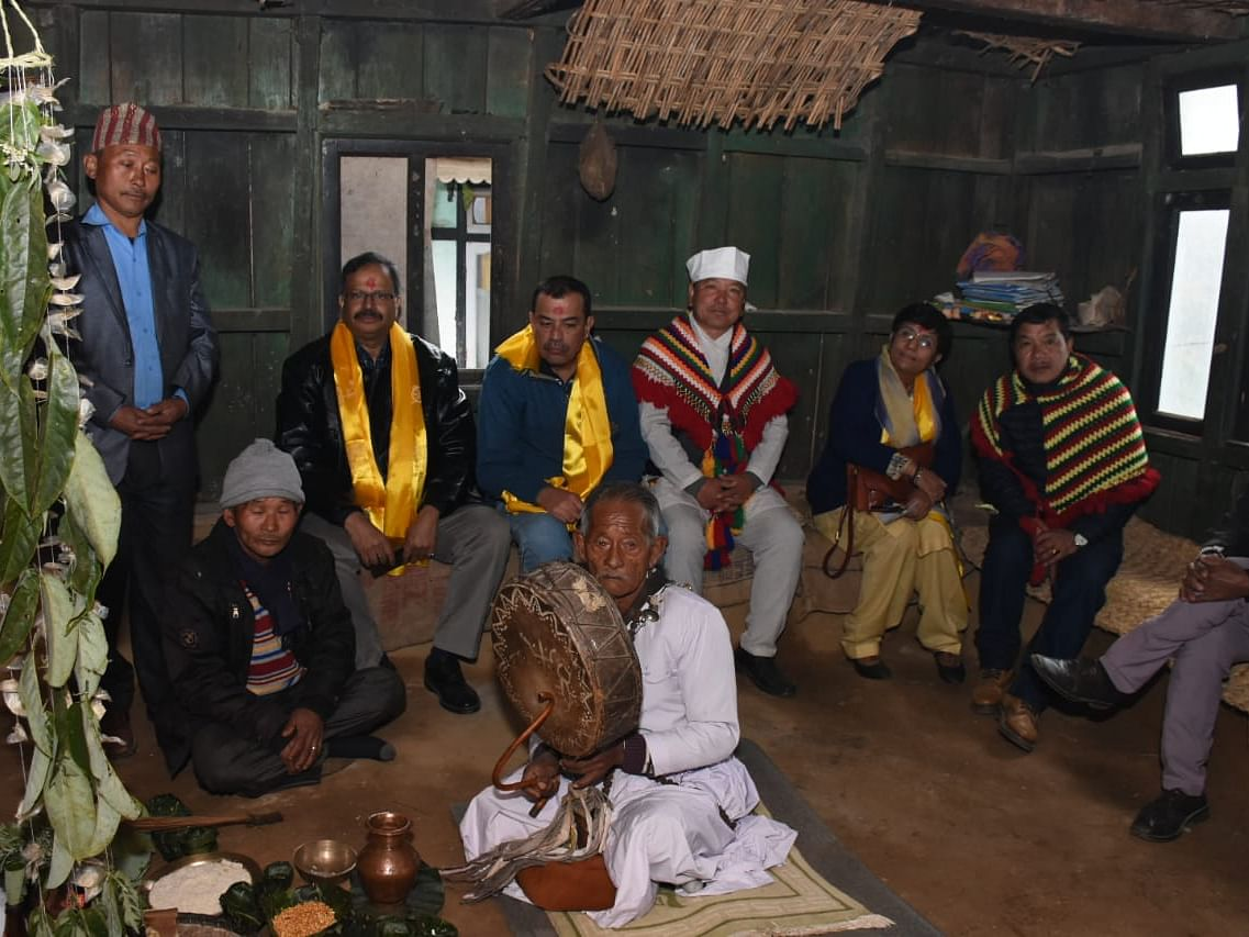3-member team of tribal affairs ministry in South Sikkim