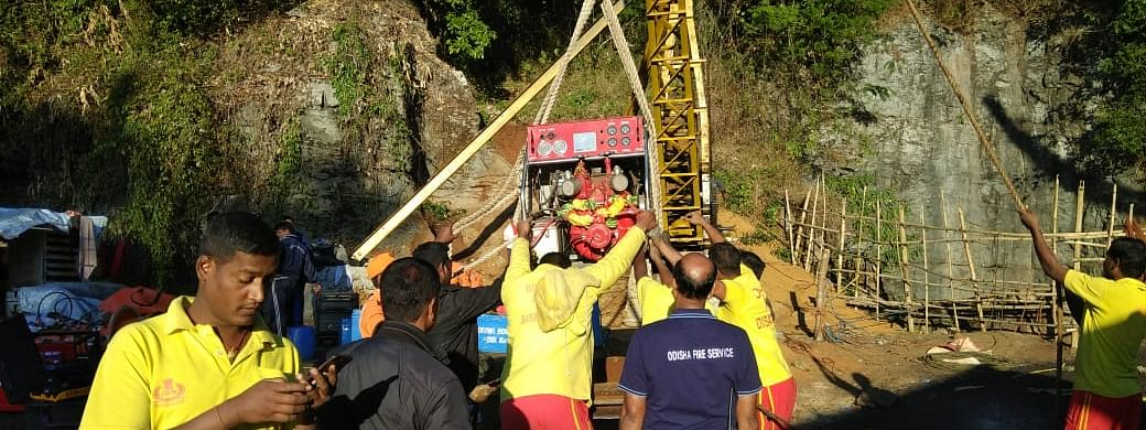 Efforts are on to rescue the 14 miners who have been trapped inside an illegal coal mine in East Jaintia Hills