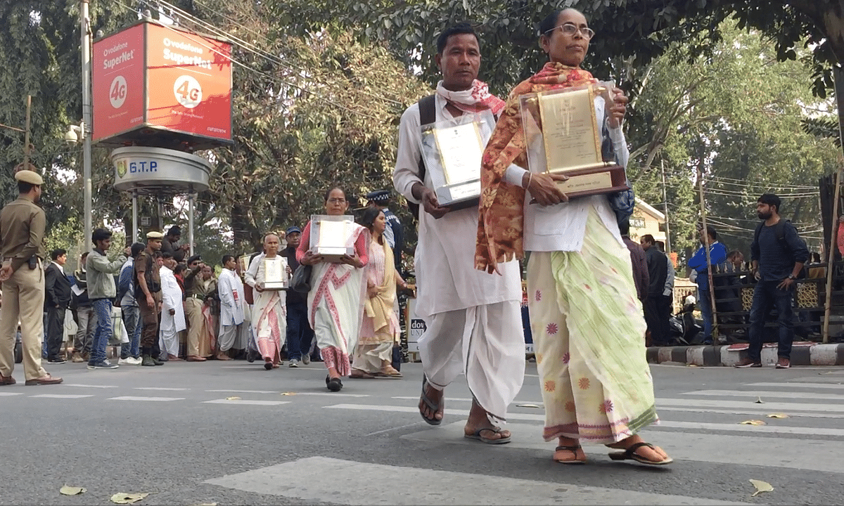 Assam Agitation martyrs' kin return awards over Citizenship Bill