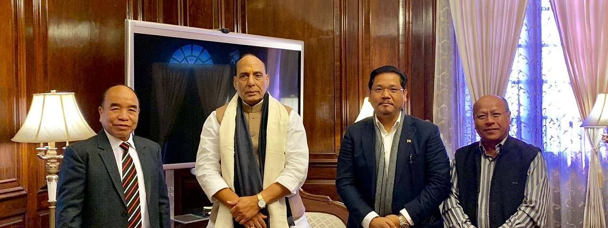 Meghalaya CM called on Rajnath Singh to oppose Citizenship Bill on Friday