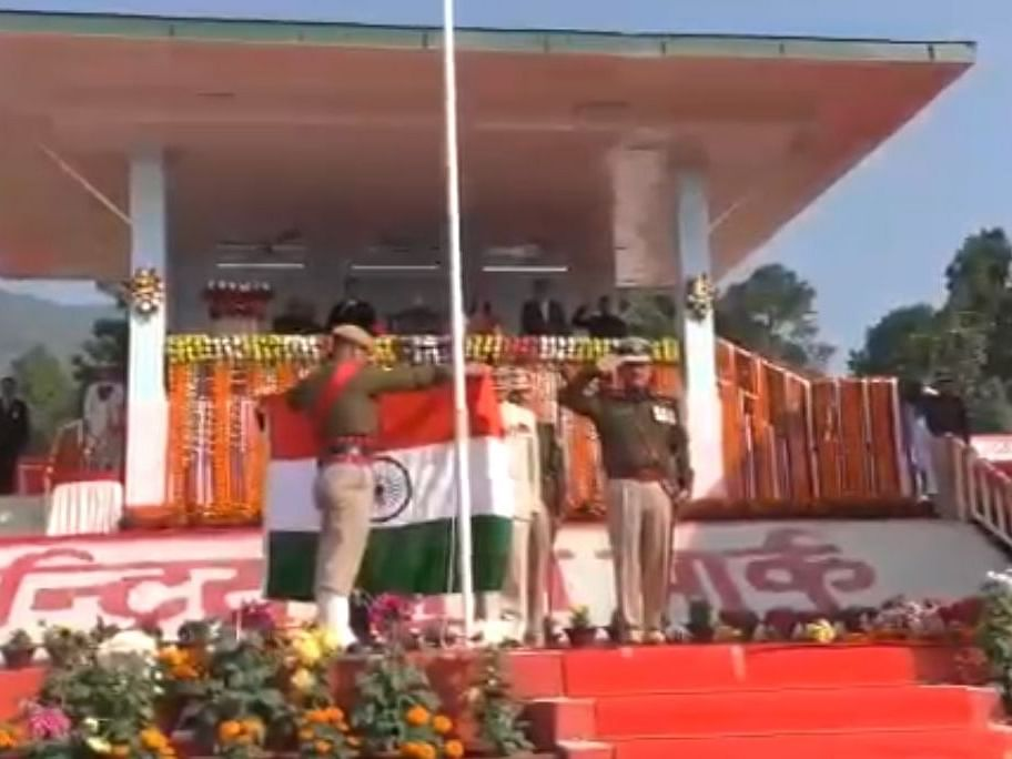 Arunachal governor saves the situation during R-Day celebrations