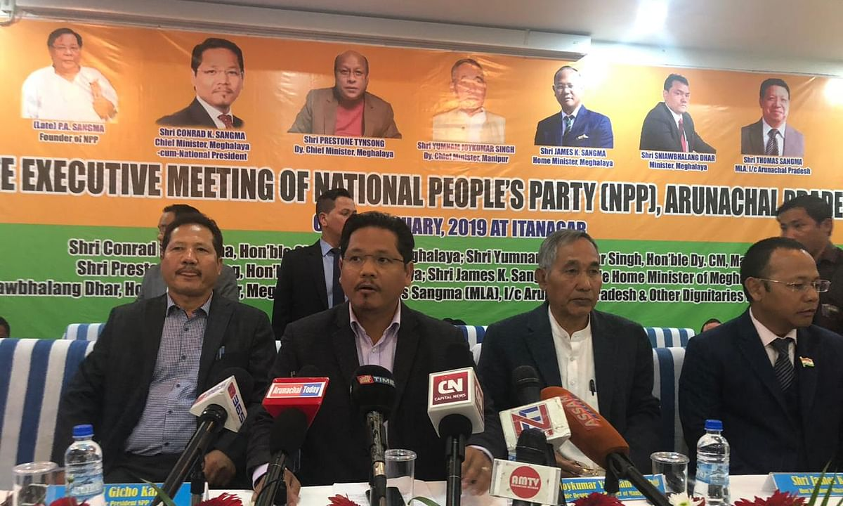 Arunachal: NPP releases 1st list of candidates for assembly polls