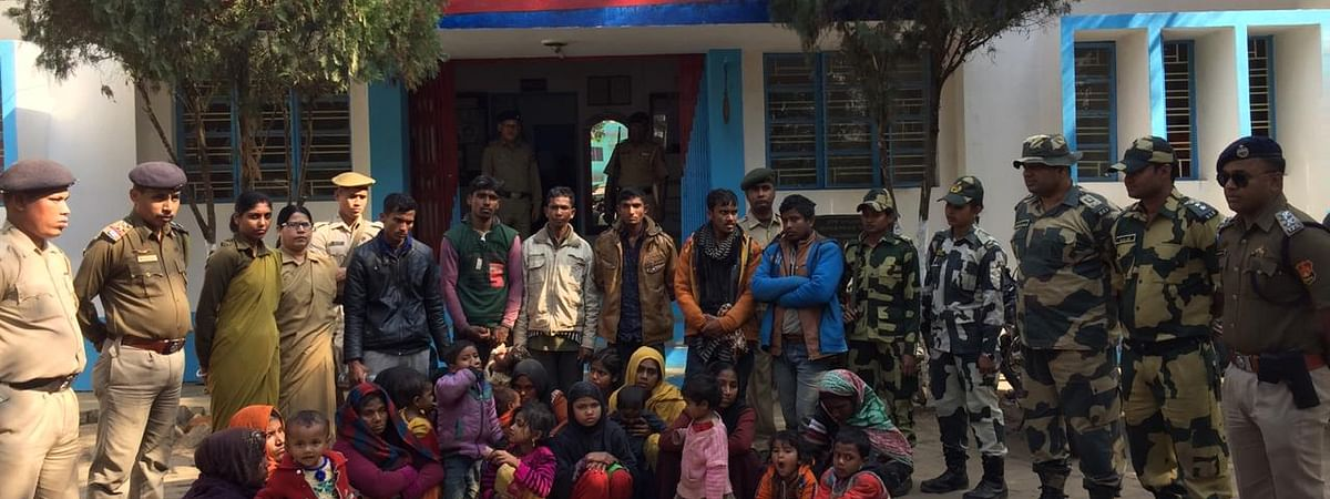 Earlier, 31 Rohingyas detained by BSF and handed over the Amtali police station.