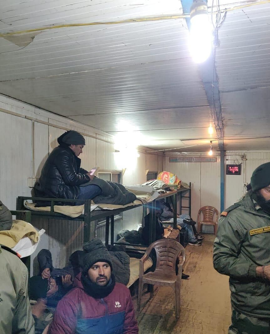 All rescued tourists are being provided, food, shelter and medical care at the army camps keeping in view the unabated snowfall and temperatures dipping down to minus-10 degrees Celsius