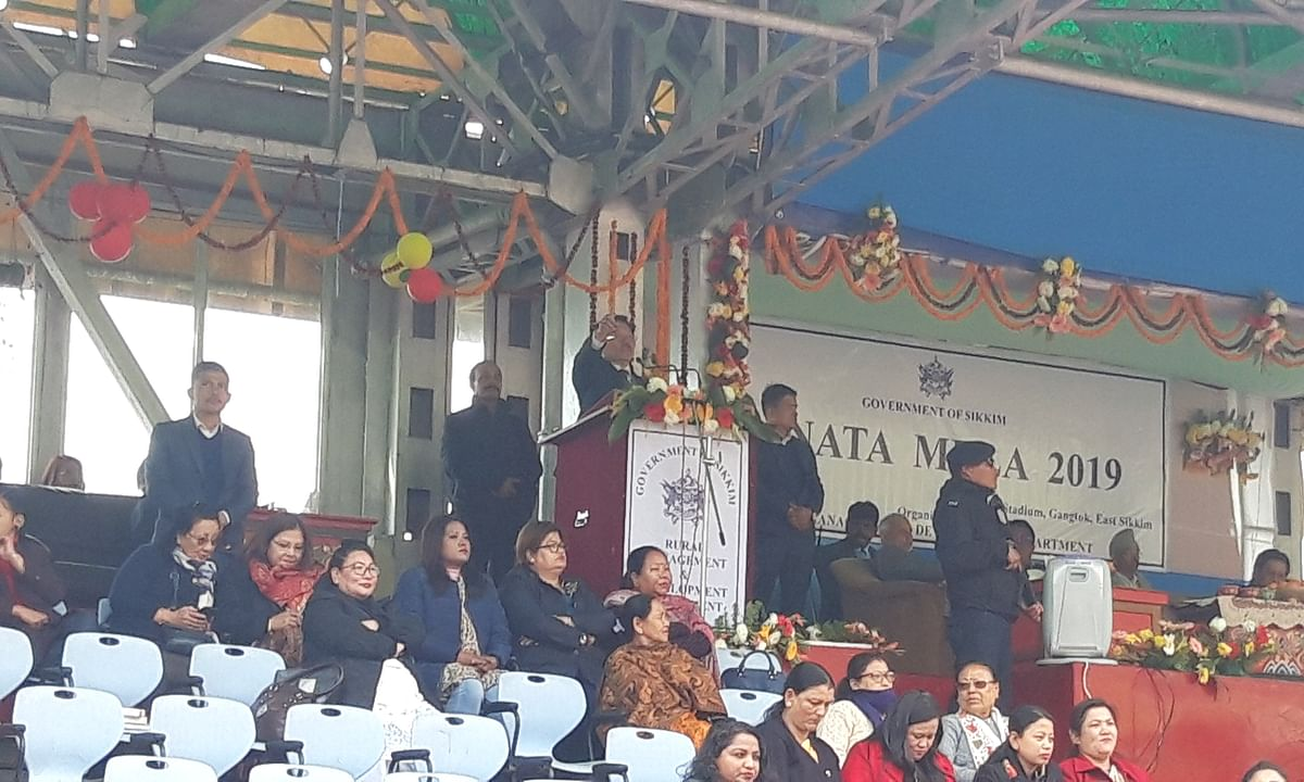 Sikkim CM lashes out at Opposition, takes part in Janta Mela