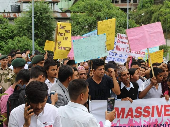Sikkim: How students shook Gangtok over better health services