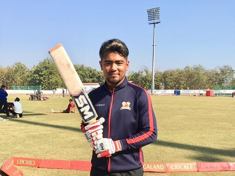 Jonathan Rongsen becomes 1st Naga to hit double century in Ranji