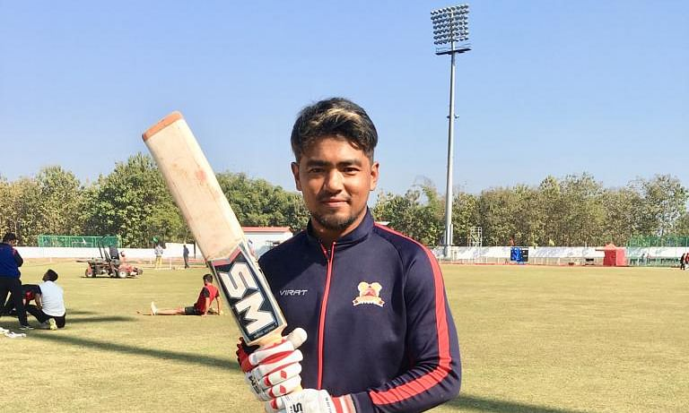 Meet the Naga cricketer who's making waves in the national circuit