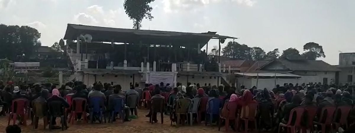 Several coal, miners, dealers and transporters from East Jaintia Hills took part in a protest rally organised in Meghalaya.