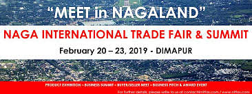 The event is promoted by Department of Tourism, and Science & Technology, Government of Nagaland.