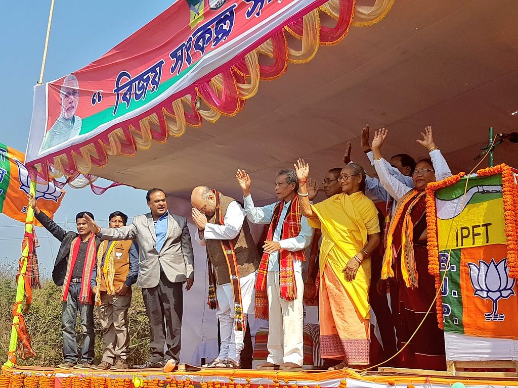 CAB: Amit Shah to chair meet with Pradyot, indigenous leaders