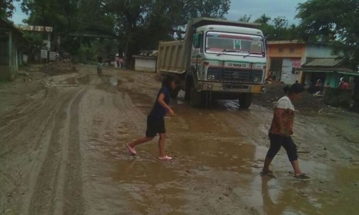 Nagaland town to construct road on its own after 20 yrs of neglect