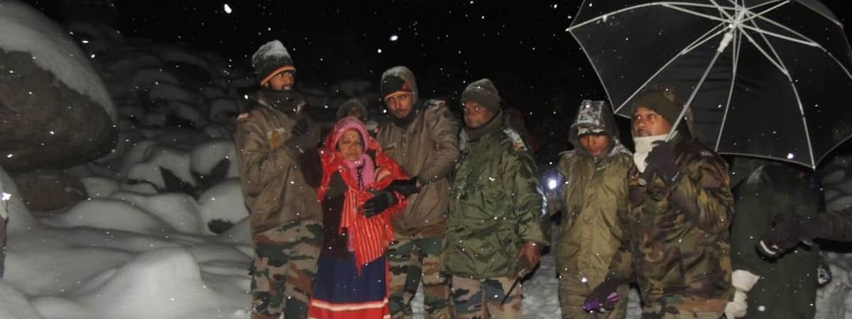 Lachung Valley in North Sikkim has been receiving unprecedented snowfall in the recent past