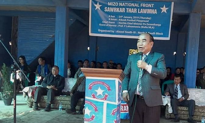 MNF is not hesitant to pull out of NEDA: CM Zoramthanga