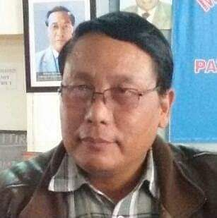 Mizo National Front party worker R Lalnunsanga, who was one of those killed in the accident