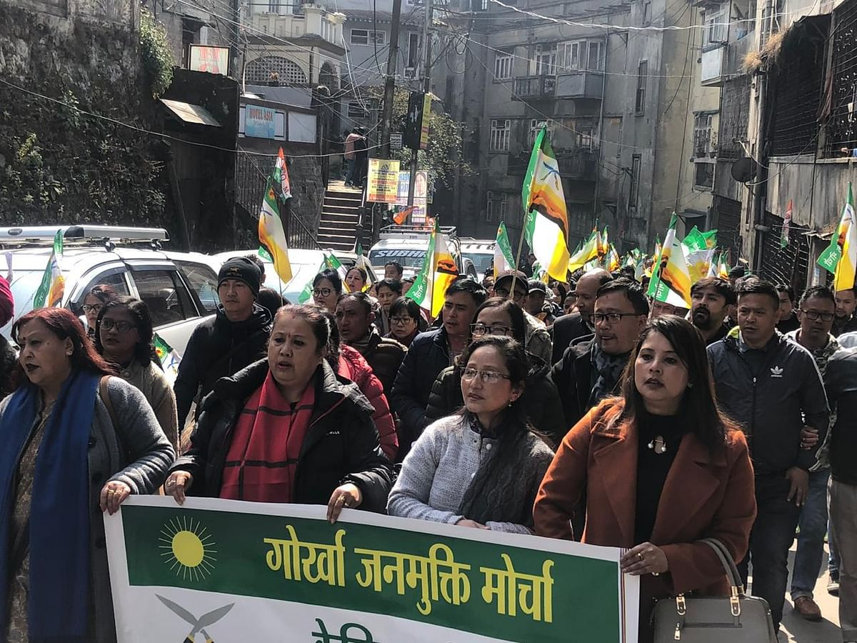 Darjeeling: GJM appeals youth wing to call off strike on Dec 29
