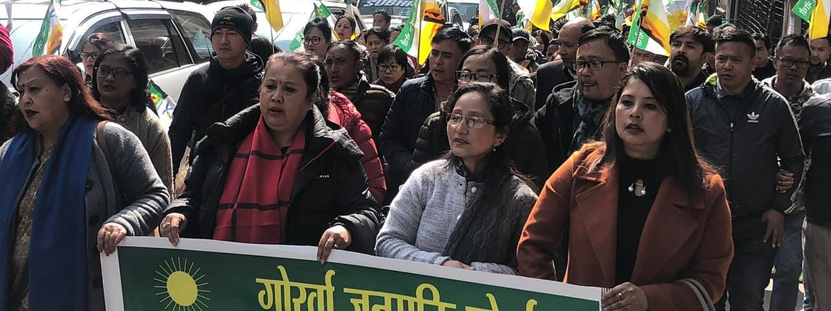 Gorkha Janmukti Morcha president Binoy Tamang has requested the party's youth wing for Darjeeling to be a 'strike-free zone'