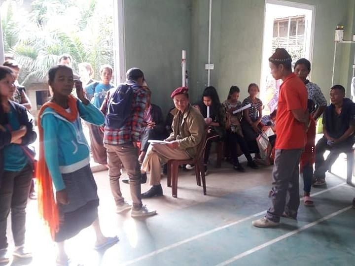 Over 2,000 Bru refugees turn up for electoral hearing in Mizoram